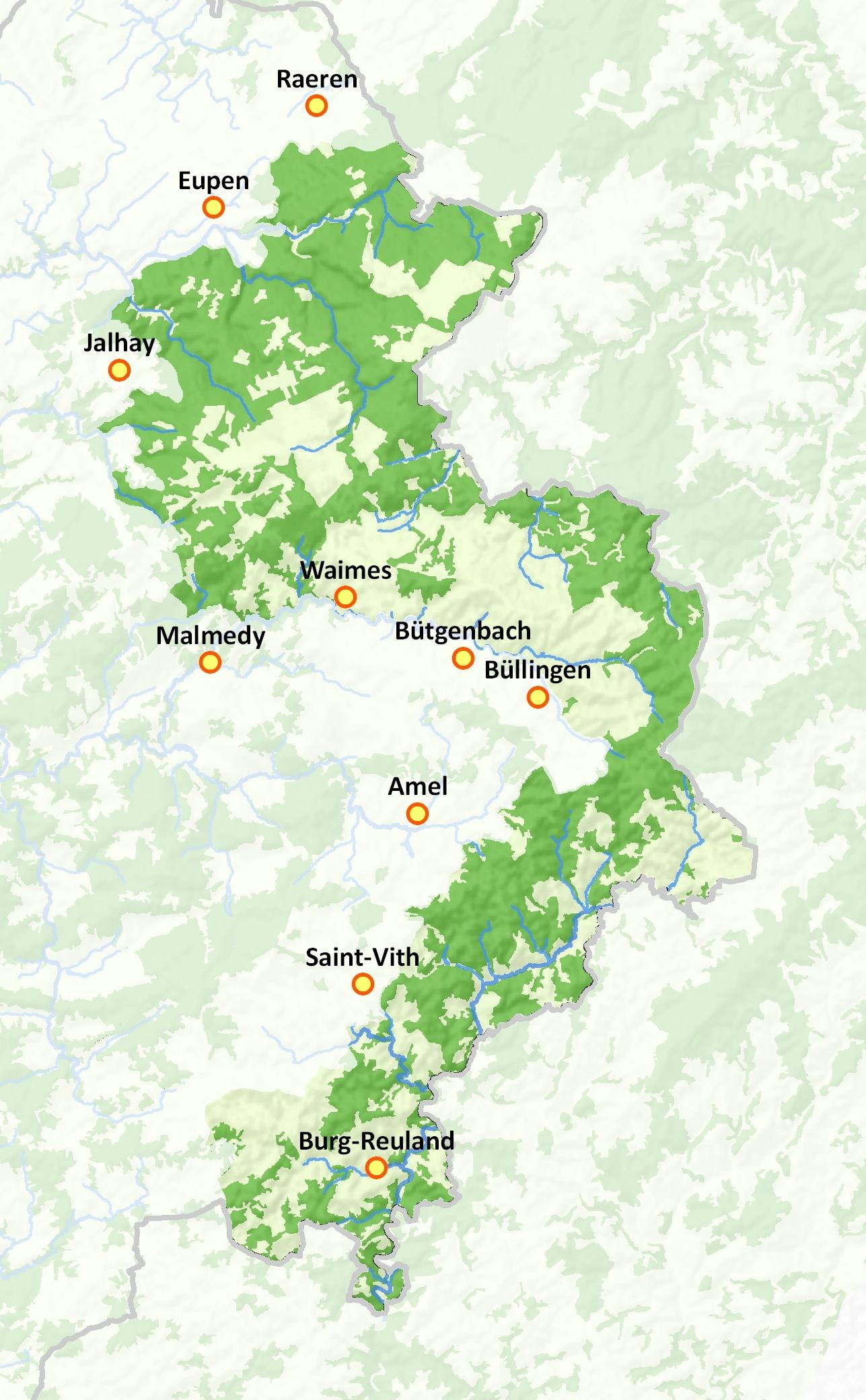 Hautes Fagnes-Eifel - Parcs naturels de Wallonie