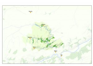 Carte du Parc naturel Burdinale Mehaigne (afficher en grand)