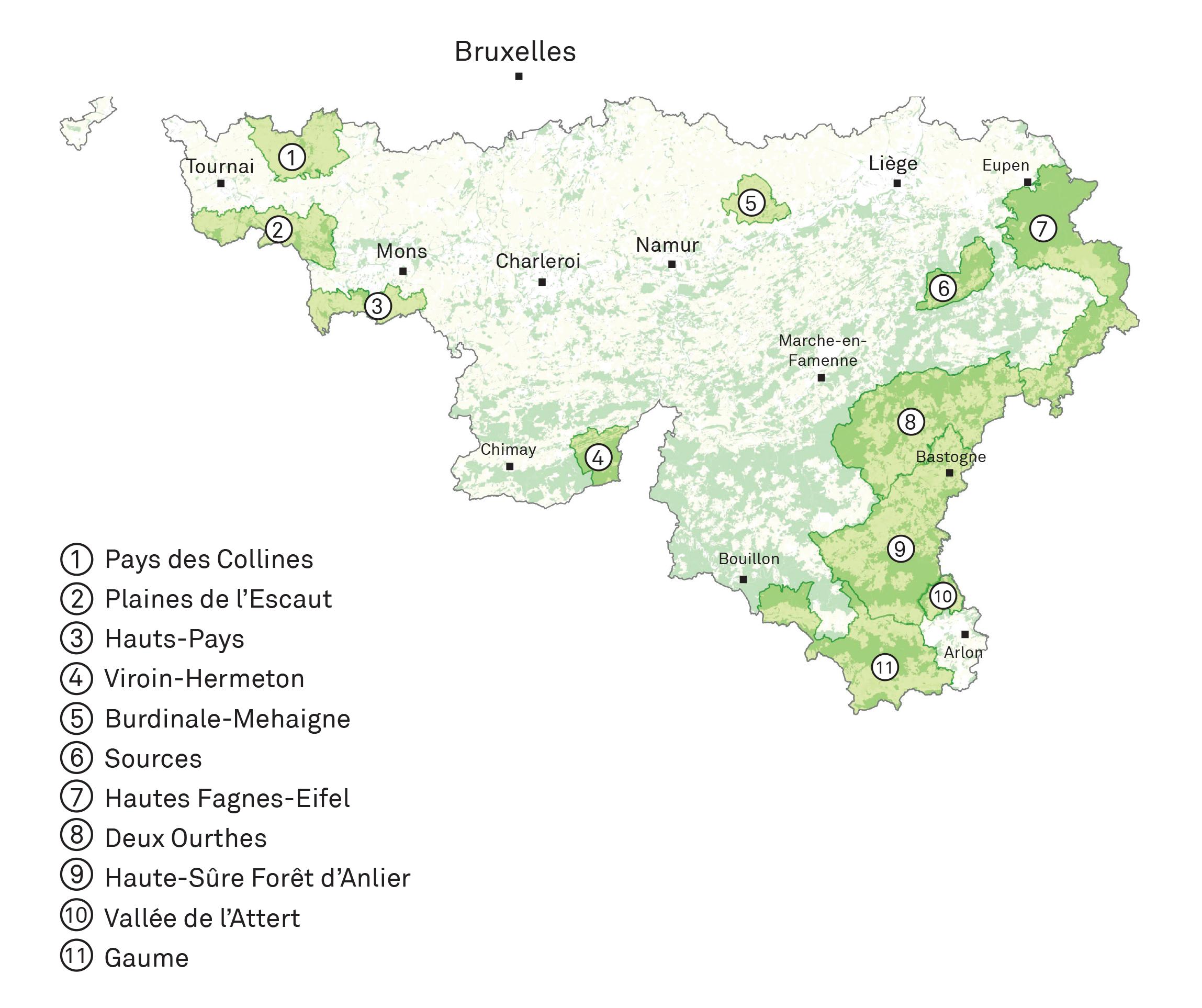 Parc naturel belgique